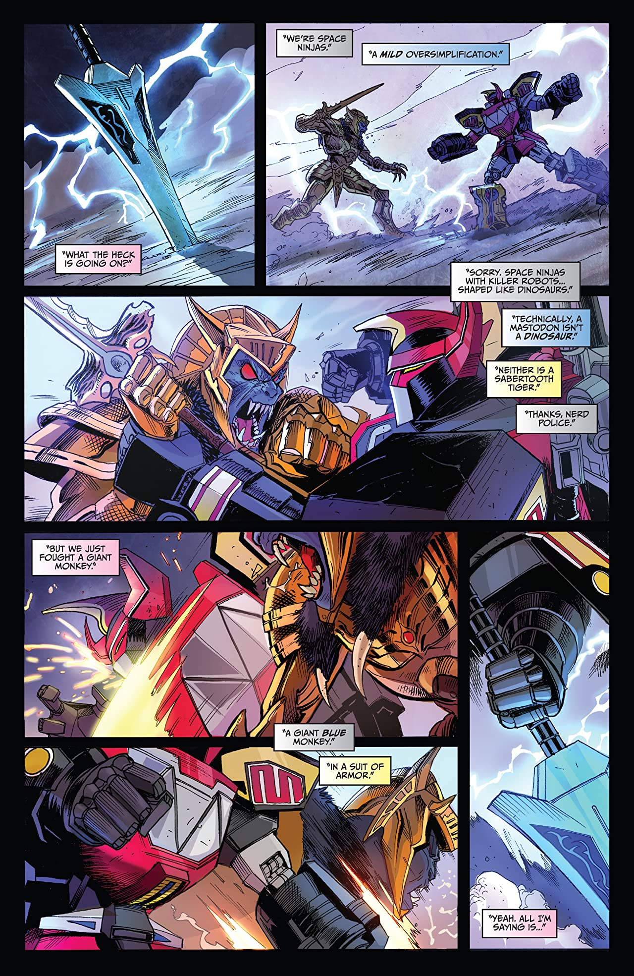 Saban's Go Go Power Rangers Vol. 1