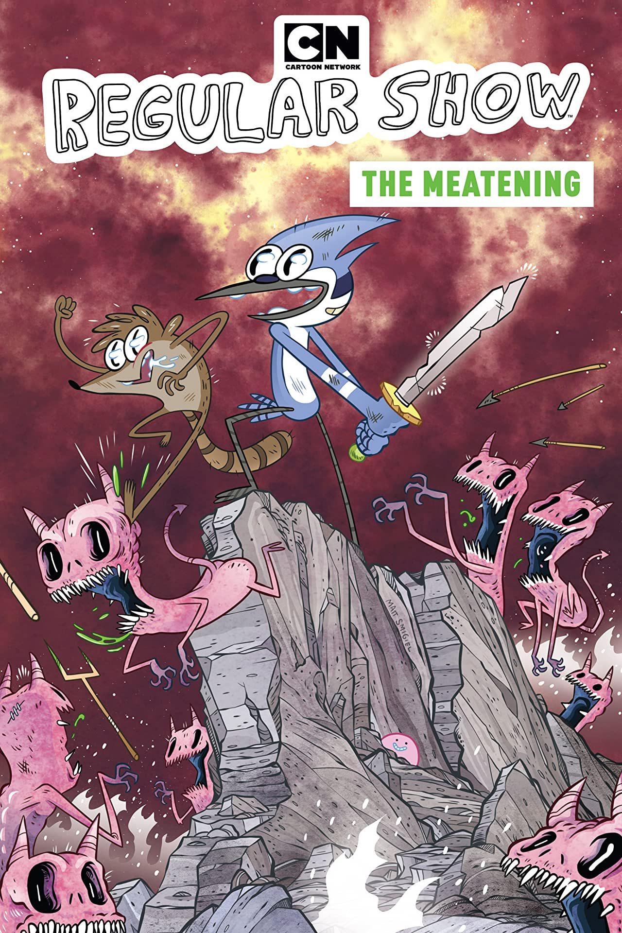 Regular Show: The Meatening