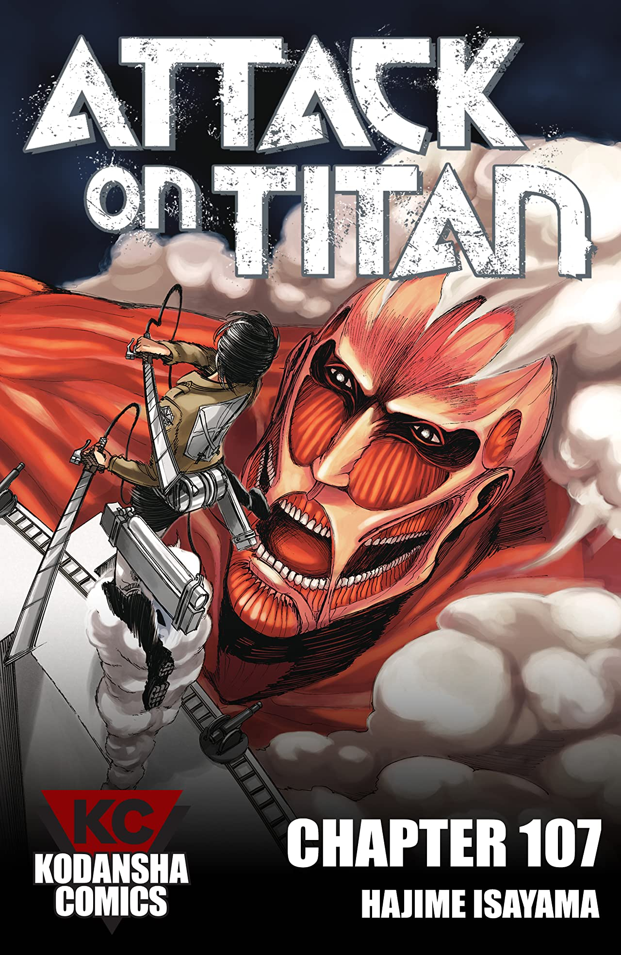 Attack on Titan #107