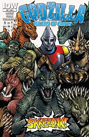 Godzilla: Rulers of Earth No.8