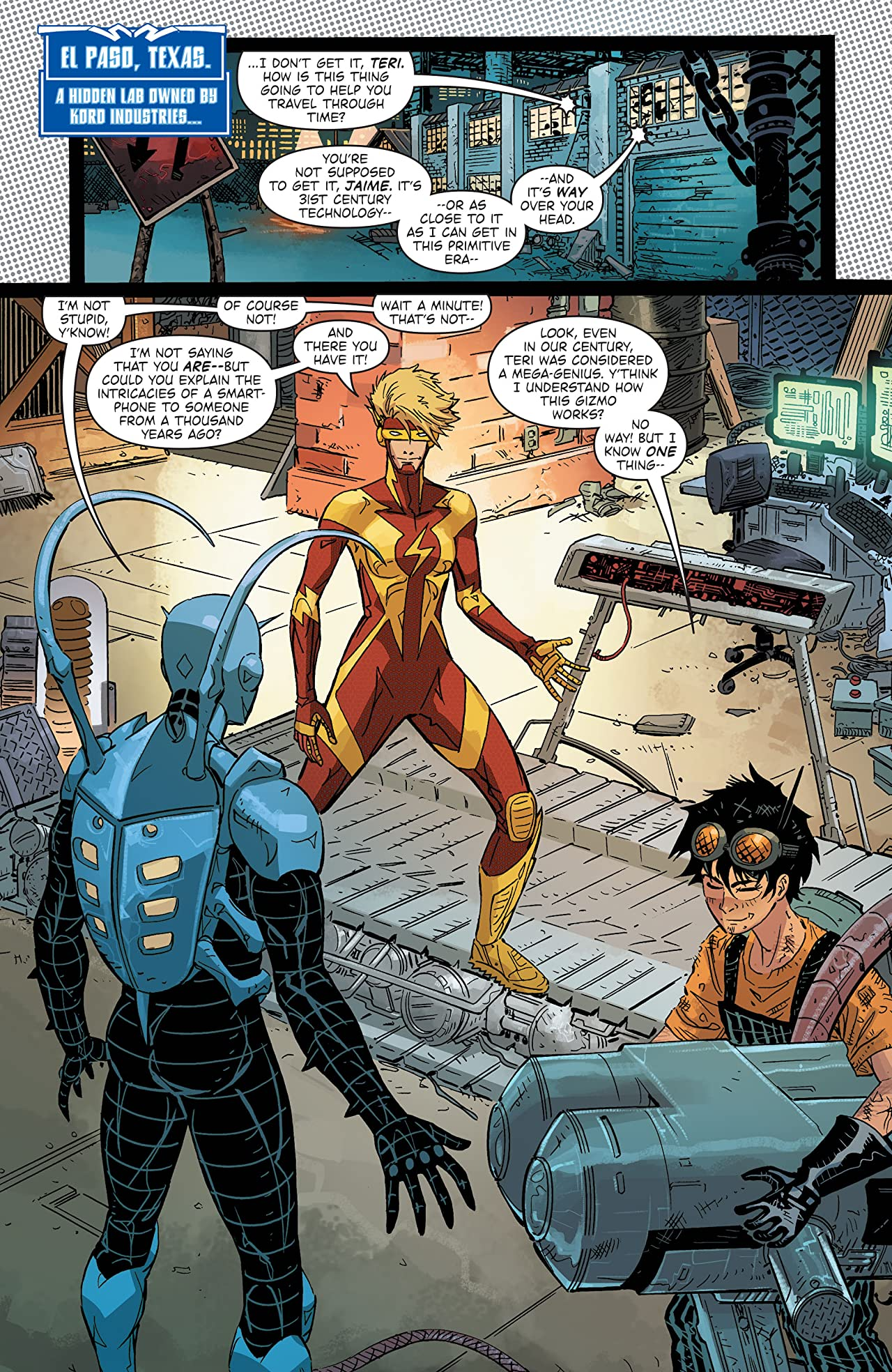 Blue Beetle (2016-) Vol. 3: Road to Nowhere