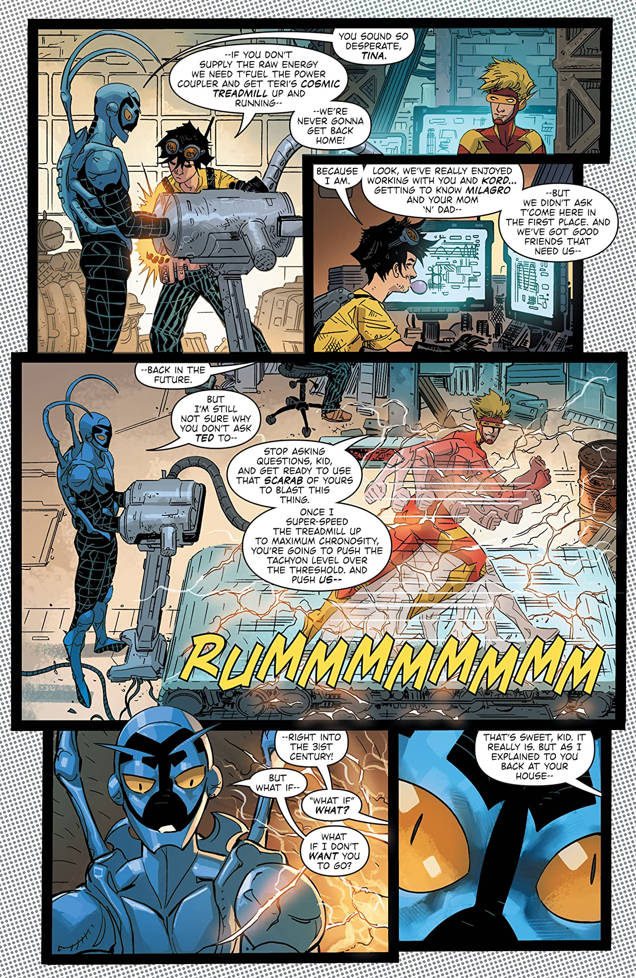Blue Beetle (2016-2018) Vol. 3: Road to Nowhere