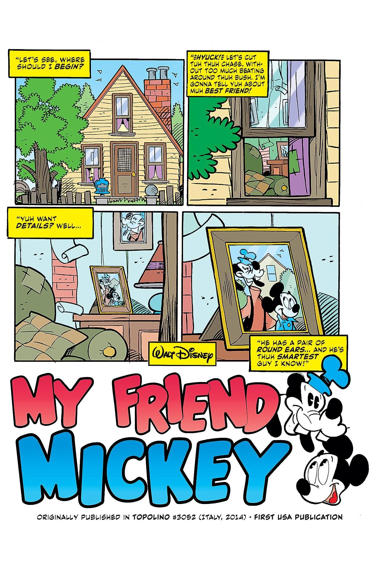 Disney Comics and Stories #1