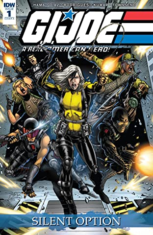 G.I. Joe: A Real American Hero: Silent Option #1 (of 4)
