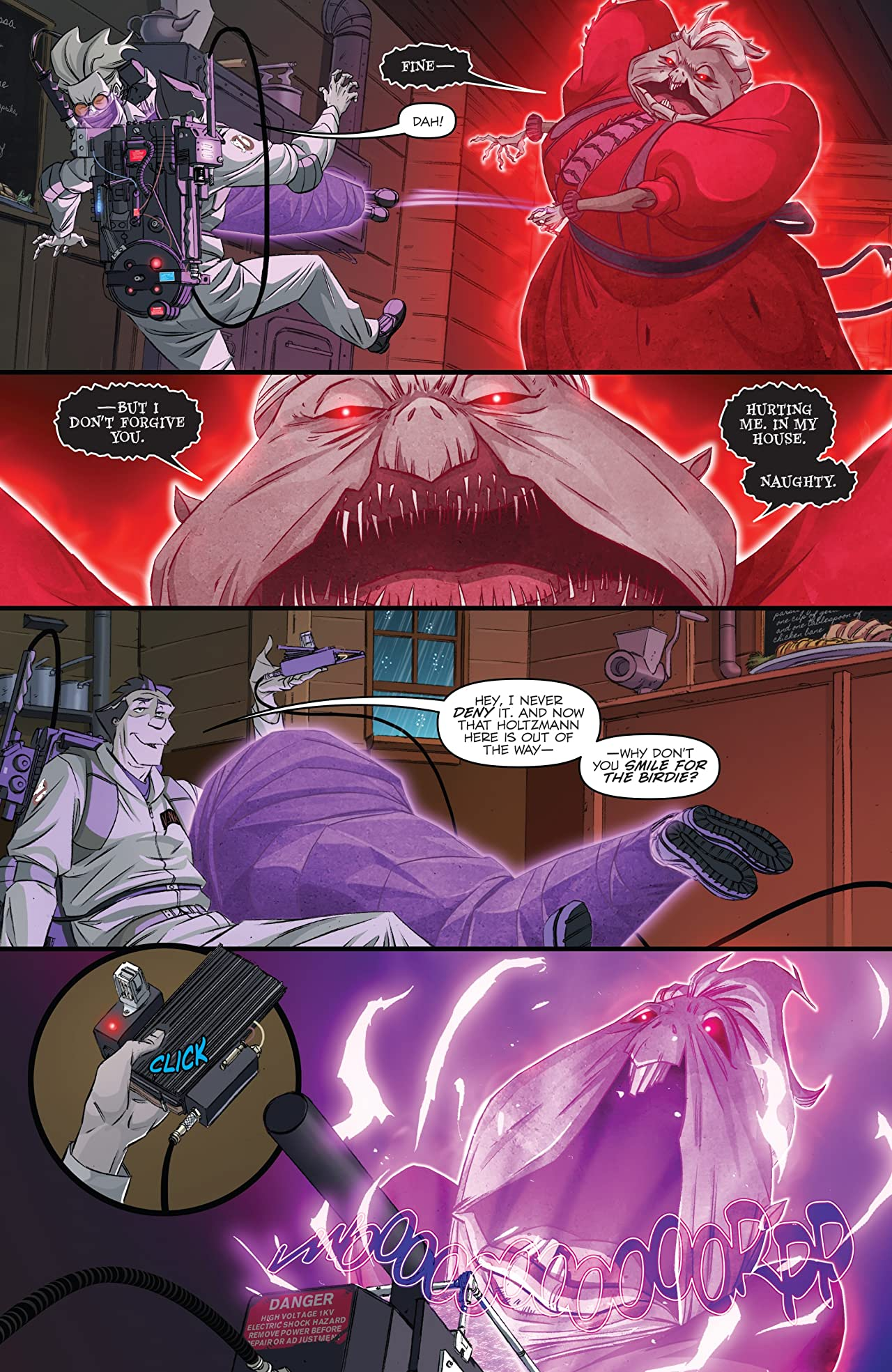 Ghostbusters: Crossing Over #7