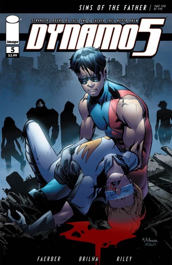 Dynamo 5: Sins of the Father #5 (of 5)