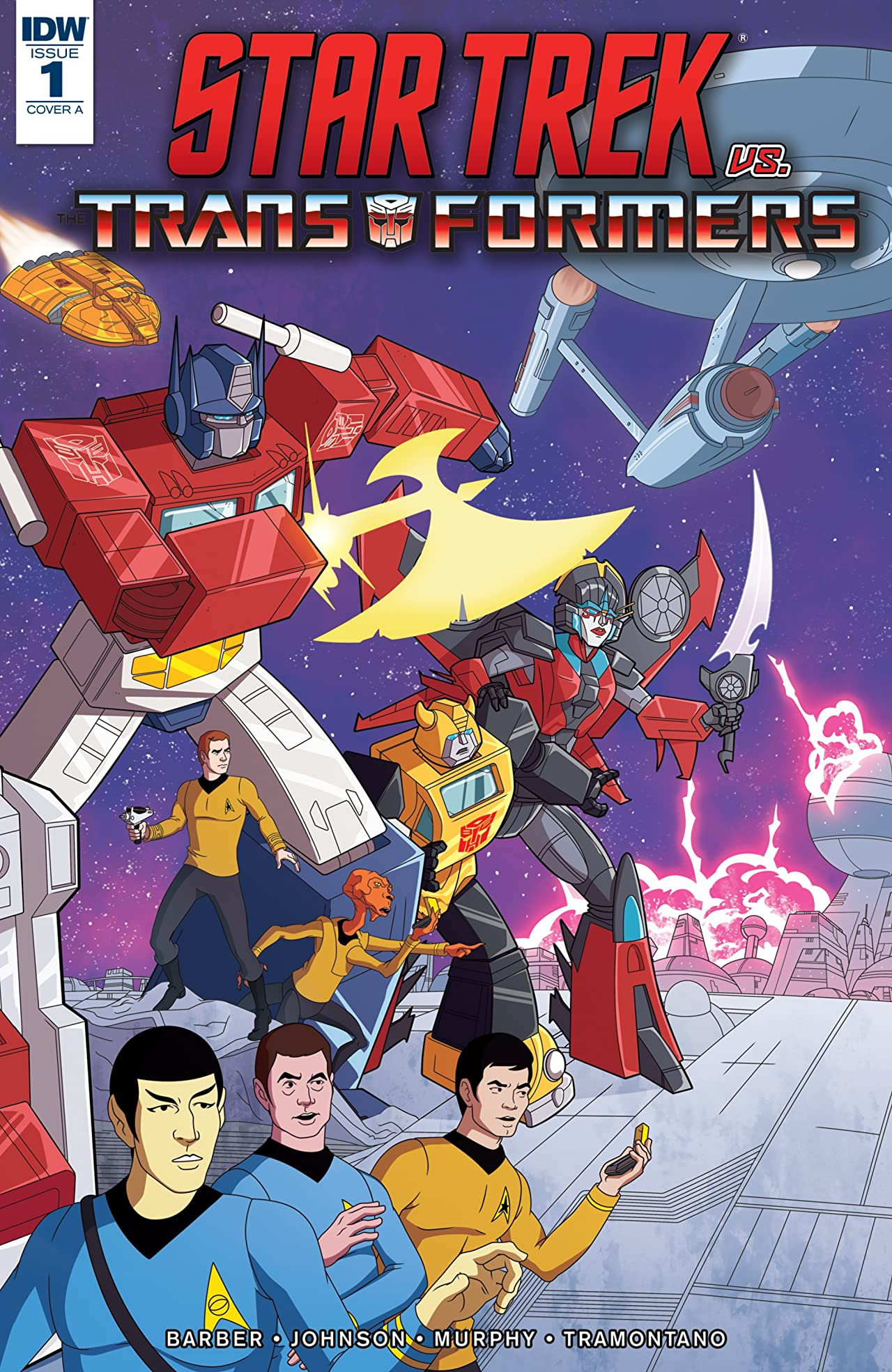 Star Trek vs. Transformers #1 (of 5)