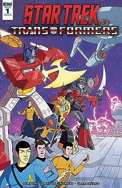 Star Trek vs. Transformers #1 (of 4)