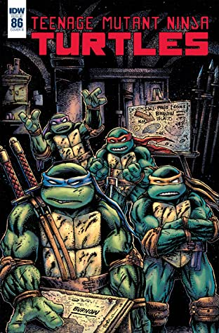 Teenage Mutant Ninja Turtles #86