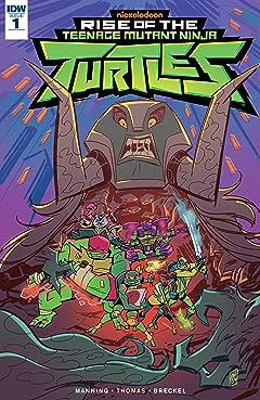 Teenage Mutant Ninja Turtles: Rise of the TMNT #1
