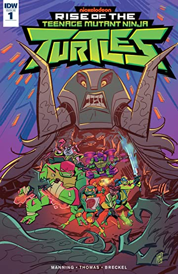 Teenage Mutant Ninja Turtles: Rise of the TMNT #1