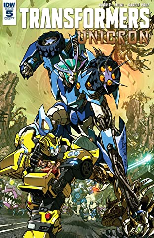 Transformers: Unicron No.5 (sur 6)