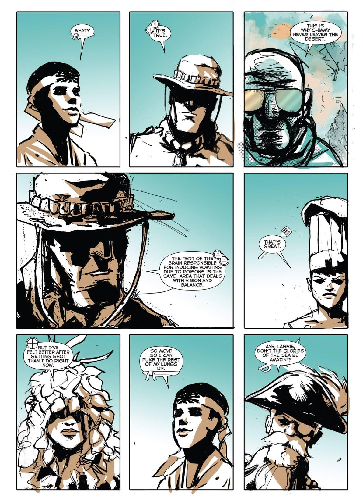 Cowboy Ninja Viking #9