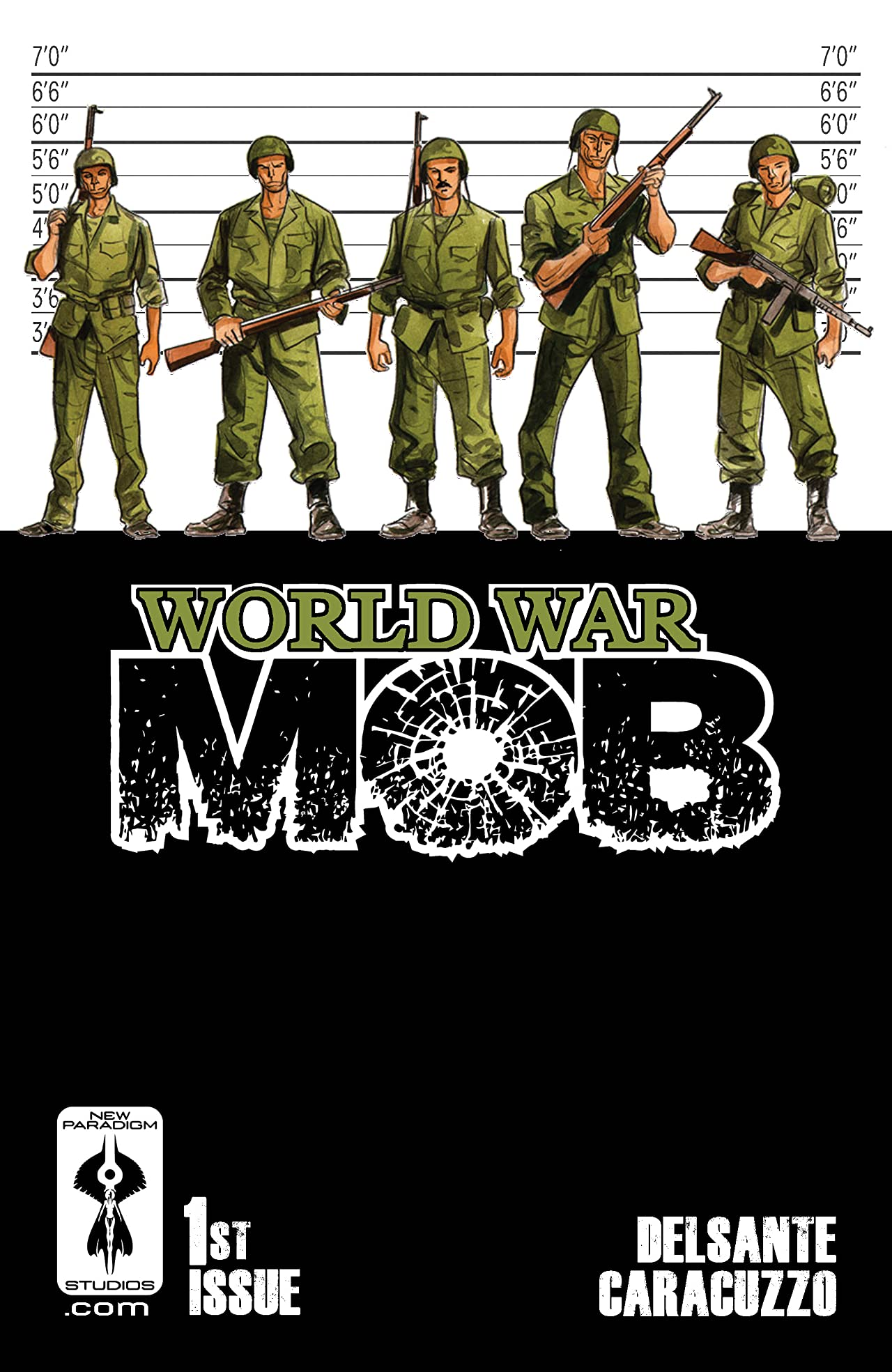World War Mob #1
