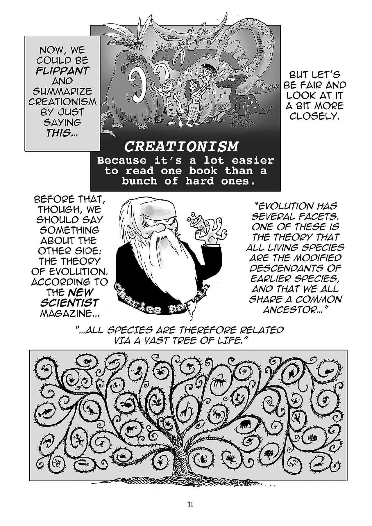 Goodbye God?: An Illustrated Exploration of Science v Religion