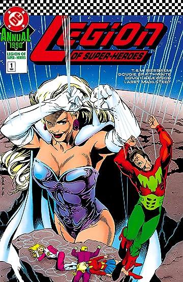 Legion of Super-Heroes (1989-2000) Annual #1