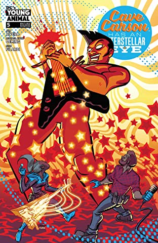 Cave Carson Has an Interstellar Eye (2018) No.5