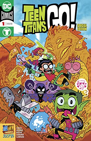 Teen Titans Go! To the Movies (2018) #1