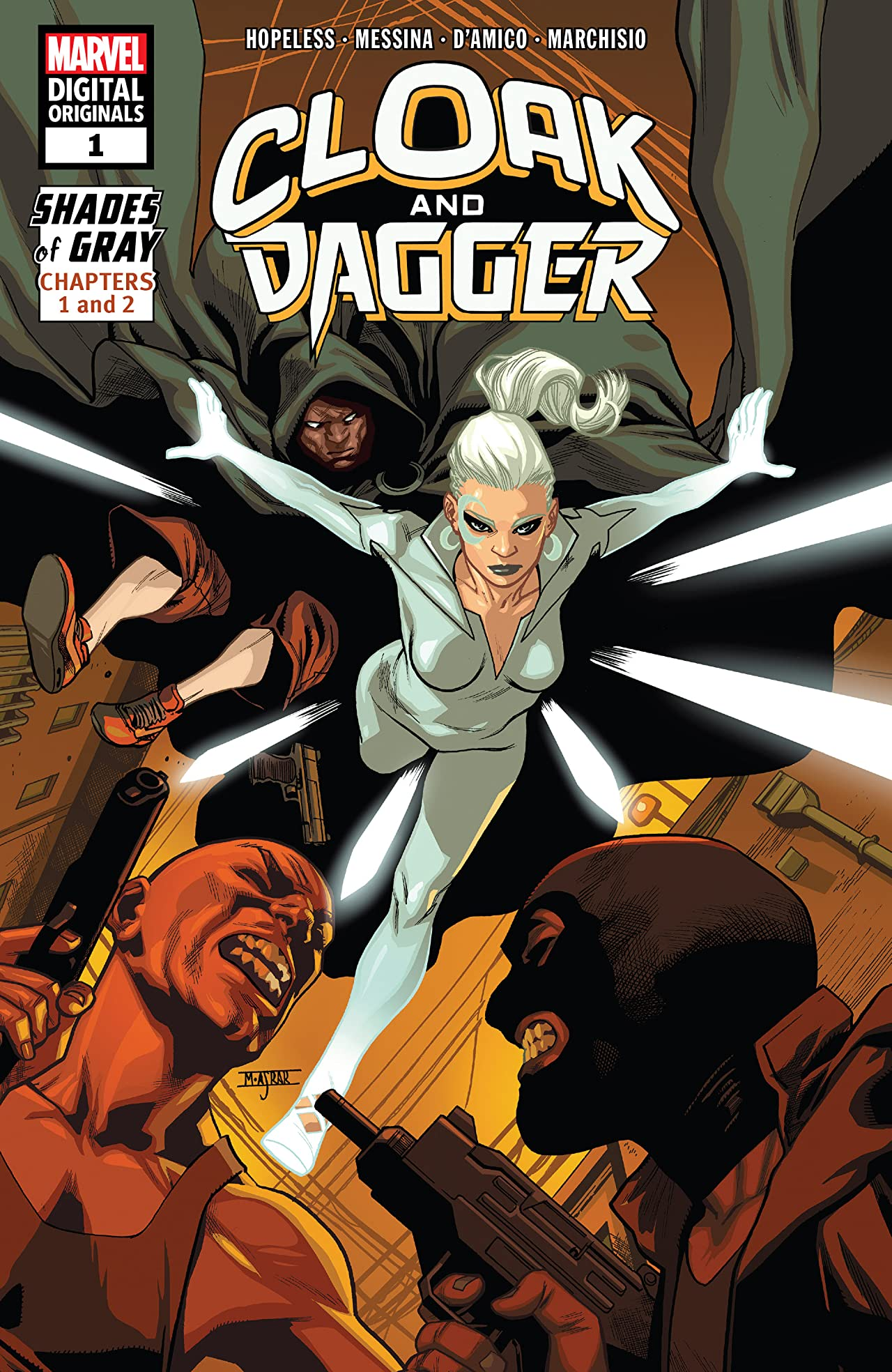 Cloak And Dagger - Marvel Digital Original (2018) #1