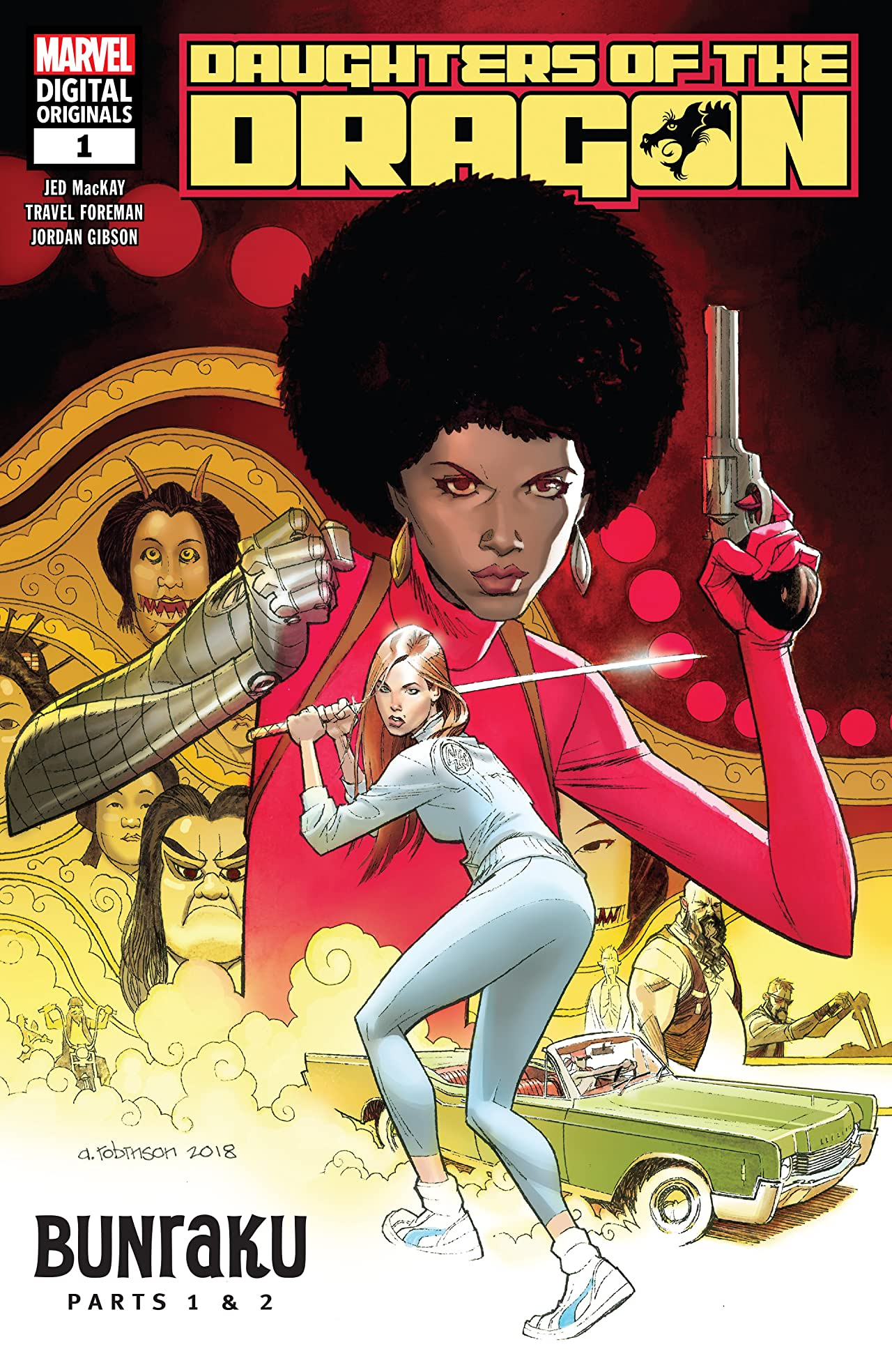 Daughters of the Dragon - Marvel Digital Original (2018-2019) #1