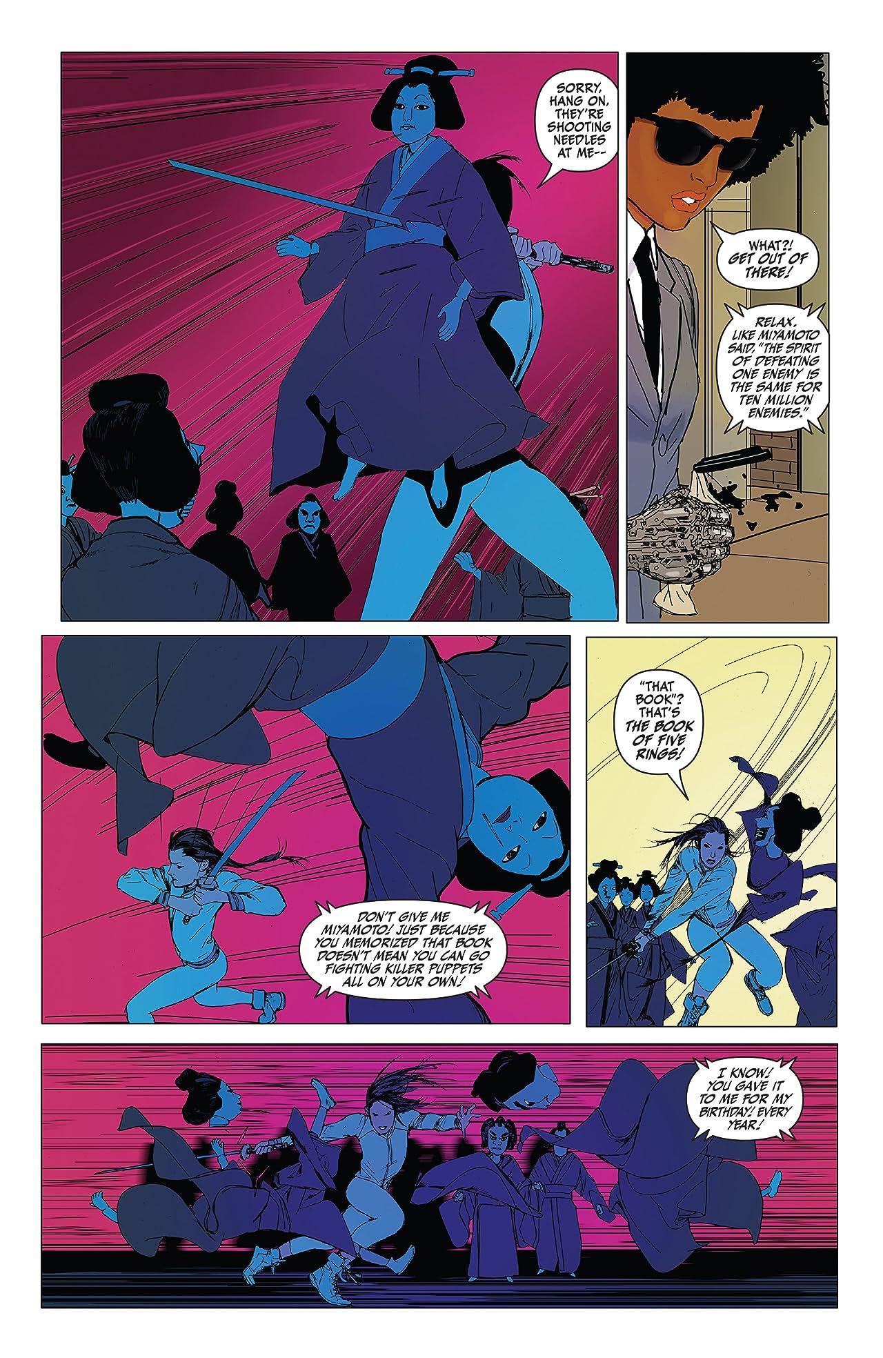 Daughters of the Dragon - Marvel Digital Original (2018-2019) #1