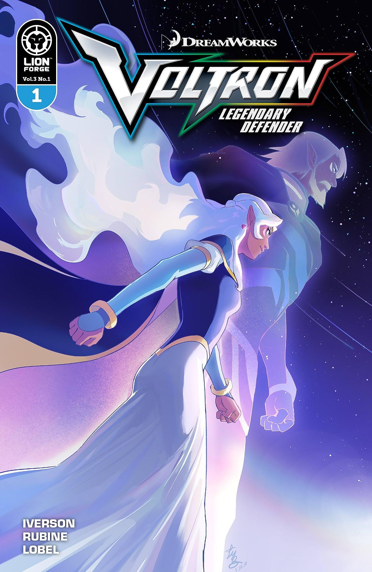 Voltron Legendary Defender Vol. 3 #1
