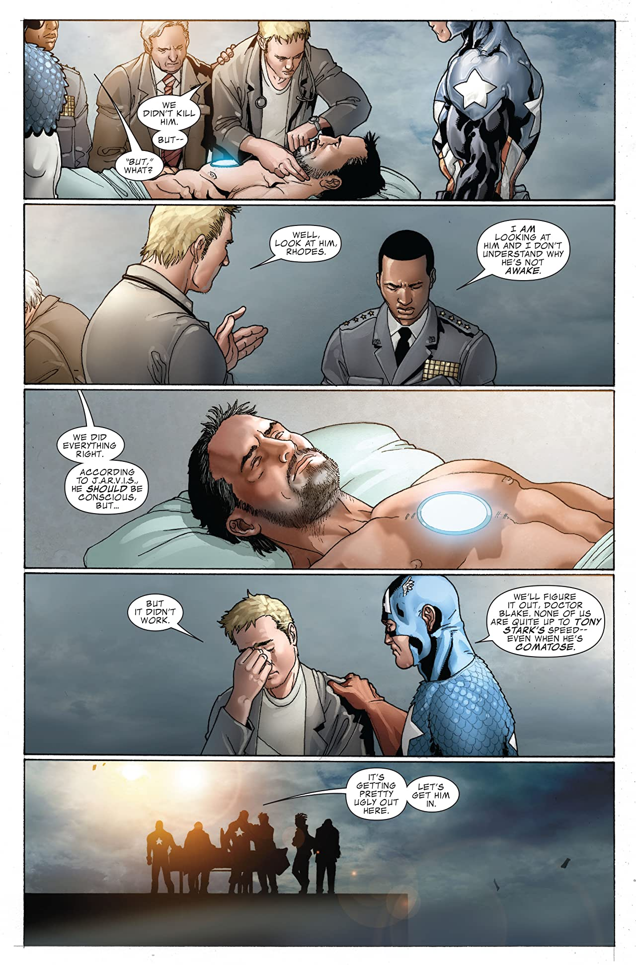 Invincible Iron Man (2008-2012) #22