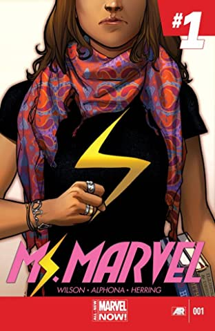 Ms. Marvel (2014-2015) No.1
