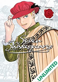 Seven Shakespeares (comiXology Originals) Vol. 5