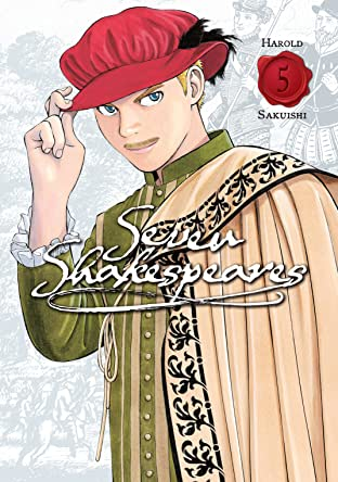 Seven Shakespeares (comiXology Originals) Tome 5