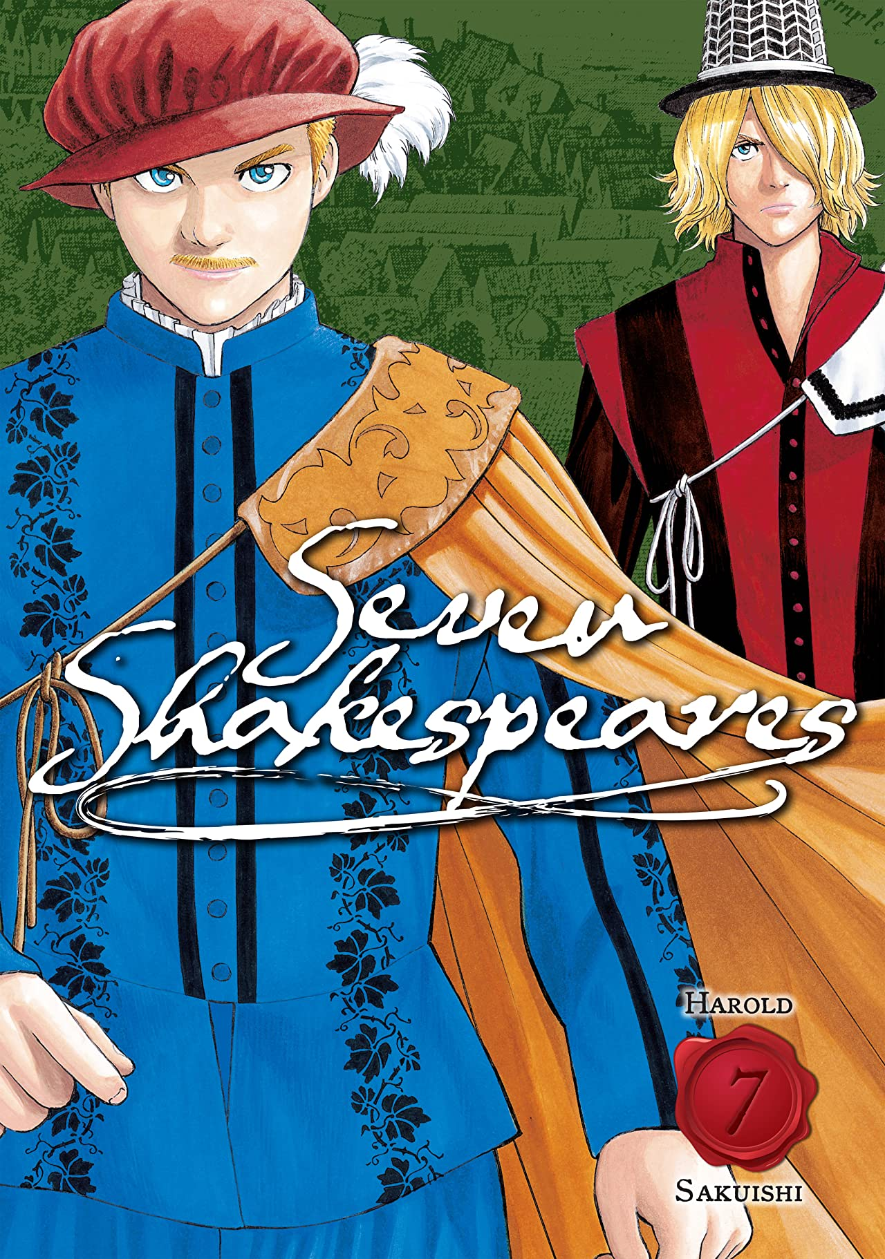 Seven Shakespeares (comiXology Originals) Tome 7