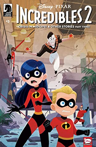 Disney•PIXAR The Incredibles 2: Crisis in Mid-Life! & Other Stories No.3