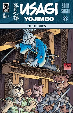 Usagi Yojimbo: The Hidden #6