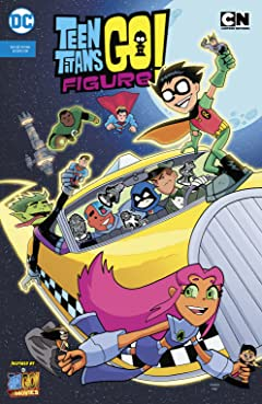 Teen Titans Go! Figure (Cartoon Network Custom Comic) #1