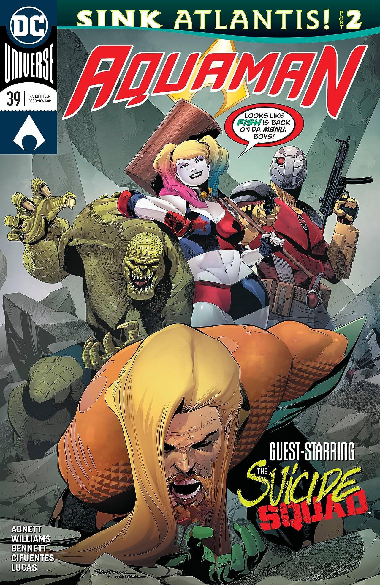 Aquaman (2016-) #39