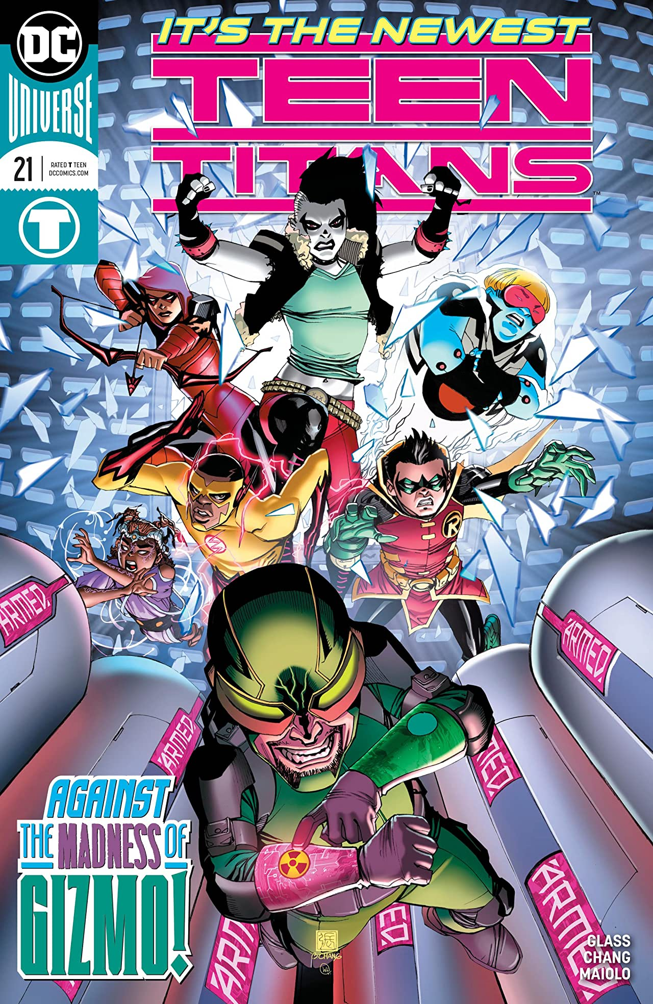 Teen Titans (2016-) No.21