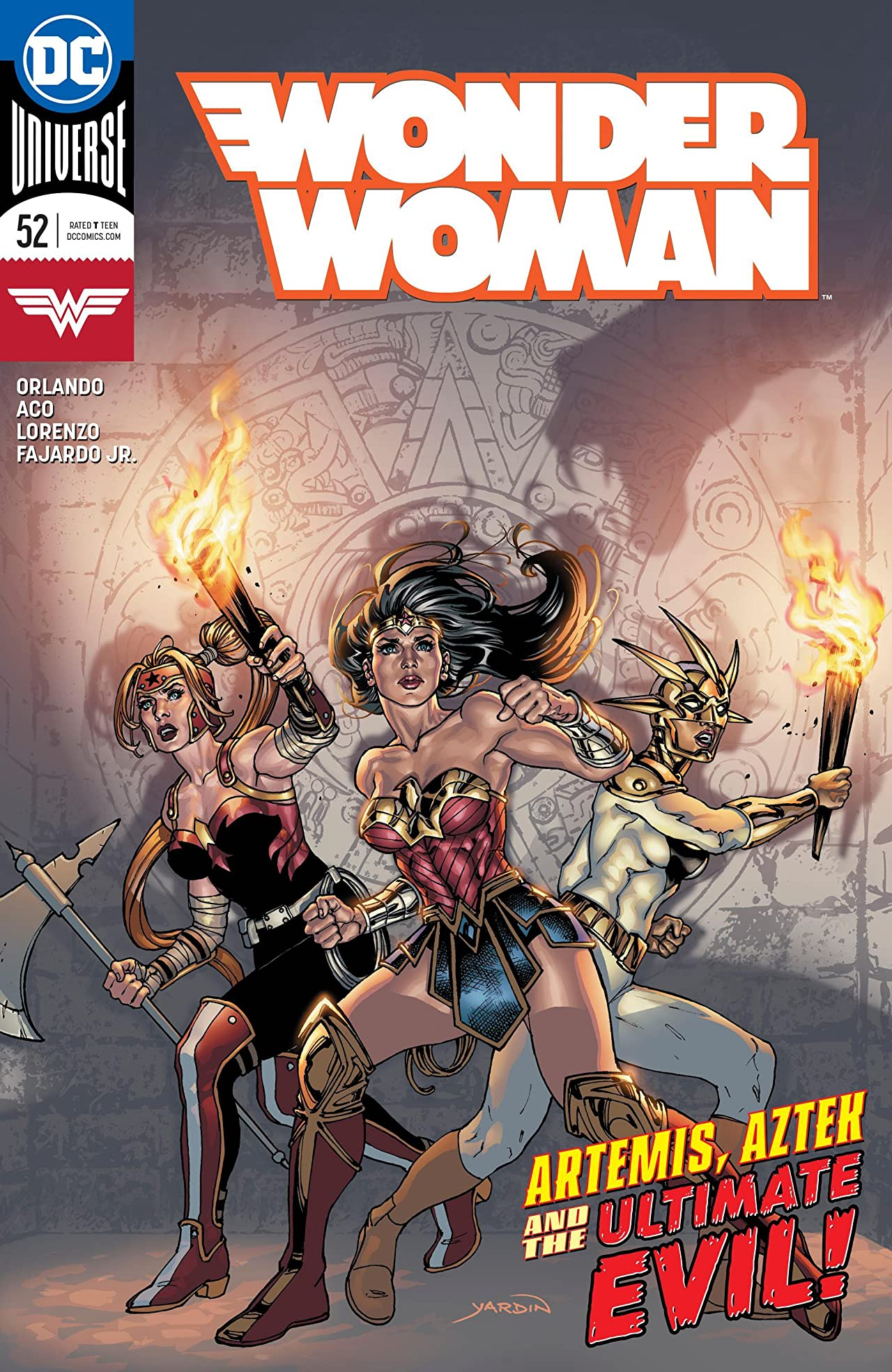 Wonder Woman (2016-) No.52