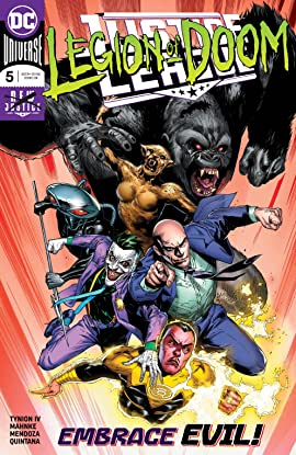 Justice League (2018-) #5