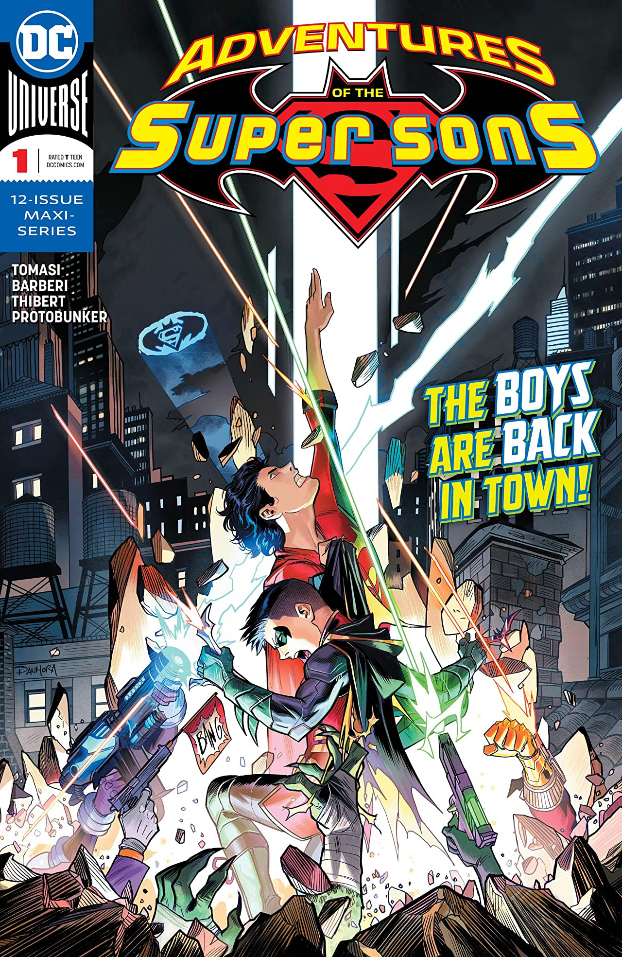 Adventures of the Super Sons (2018-) #1