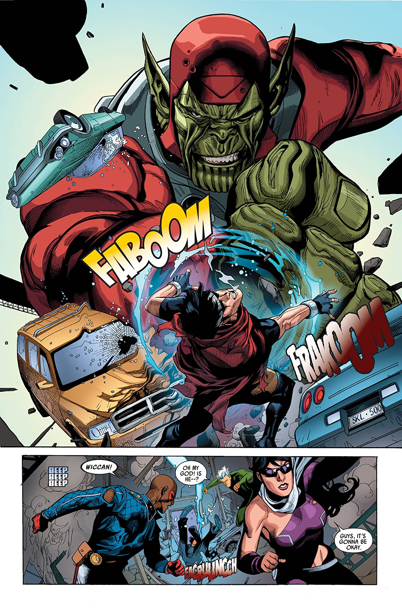 Secret Invasion #3 (of 8)