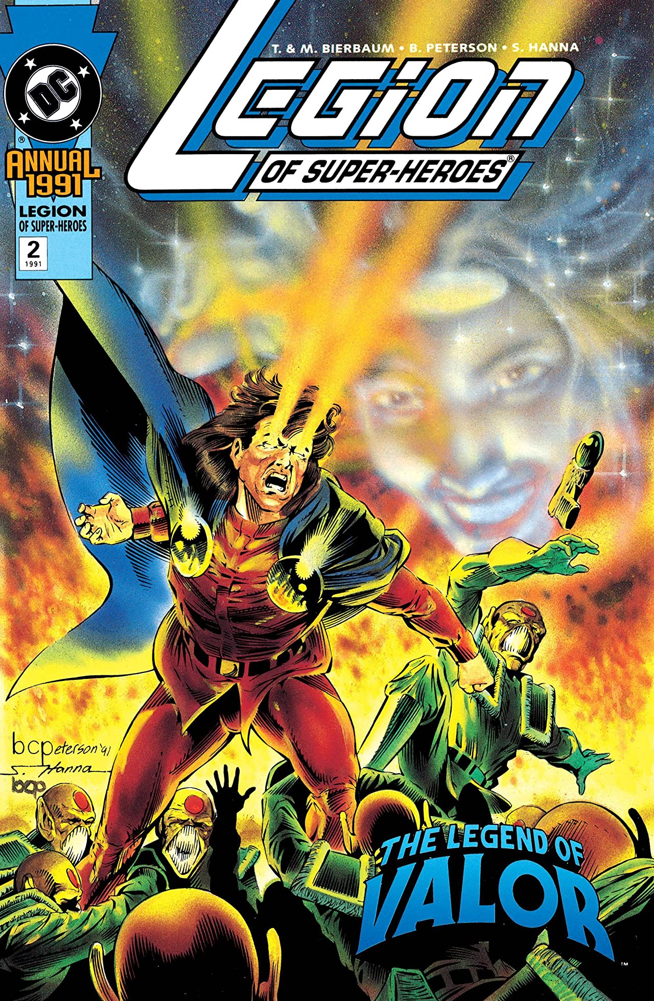 Legion of Super-Heroes (1989-2000) Annual #2