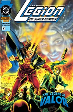 Legion of Super-Heroes (1989-2000) Annual #2