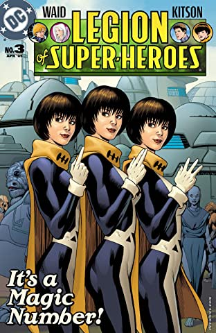 Legion of Super Heroes (2005-2009) #3