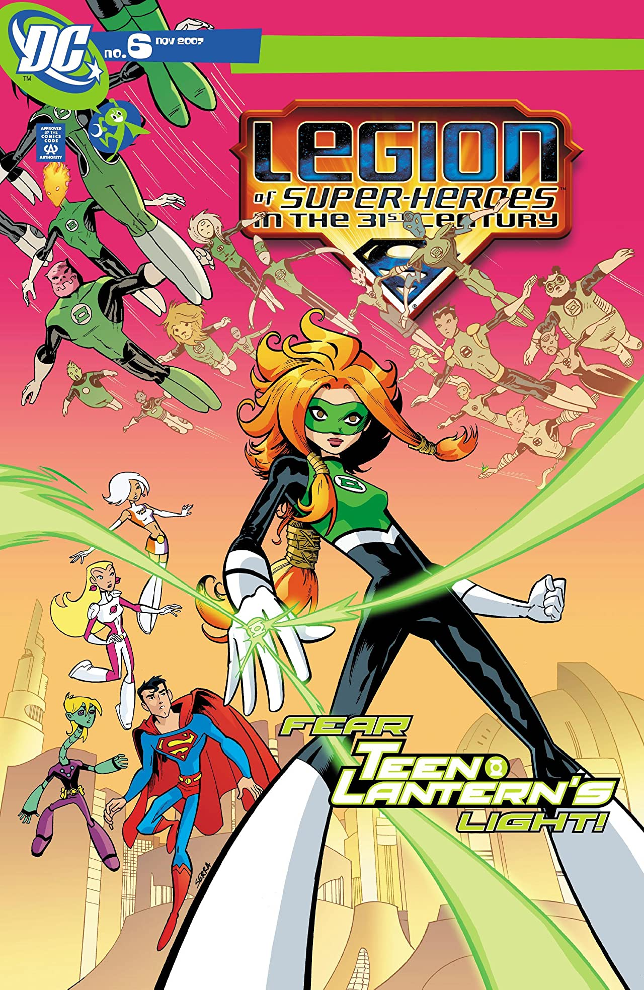 Legion of Super-Heroes in the 31st Century (2007-2009) #6
