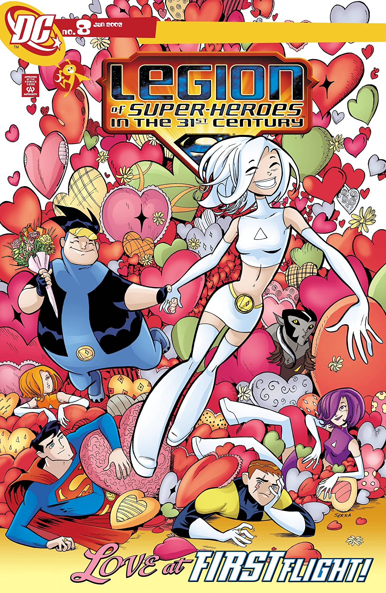 Legion of Super-Heroes in the 31st Century (2007-2009) #8