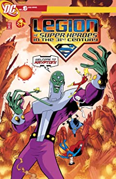Legion of Super-Heroes in the 31st Century (2007-2009) #9