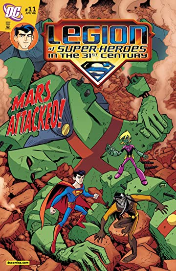 Legion of Super-Heroes in the 31st Century (2007-2009) #11