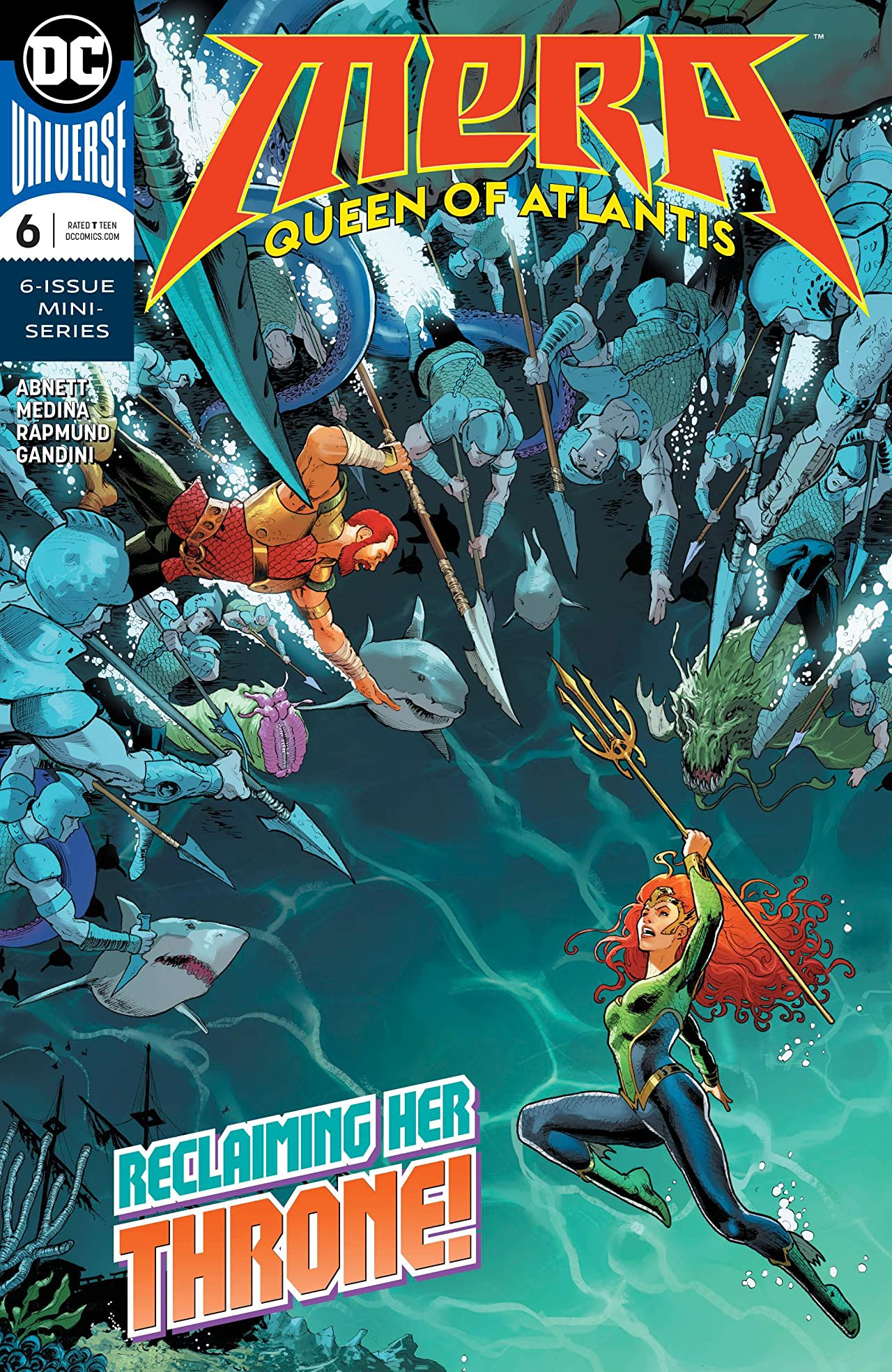 Mera: Queen of Atlantis (2018) #6