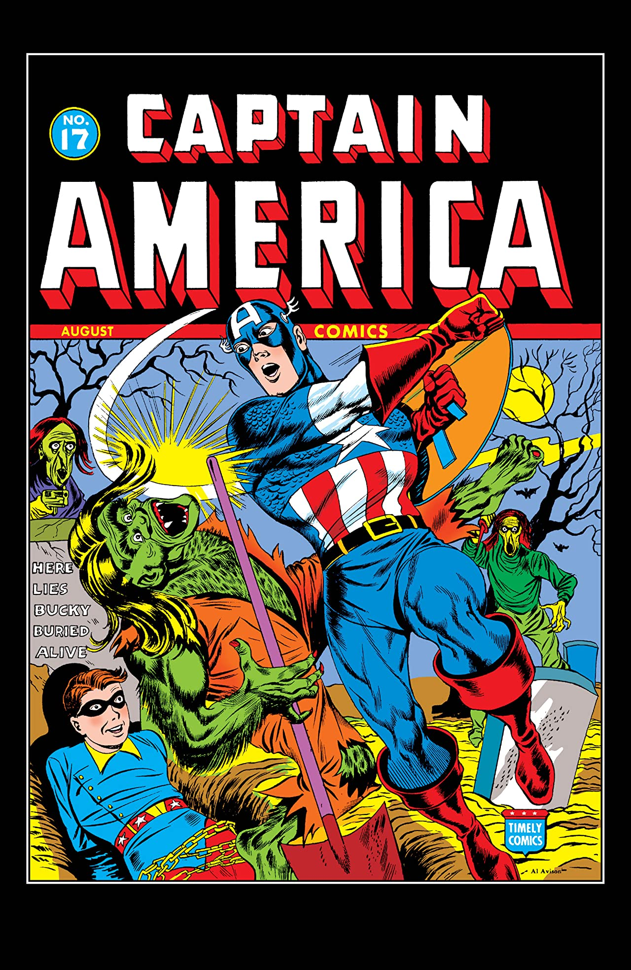 Captain America Comics (1941-1950) #17