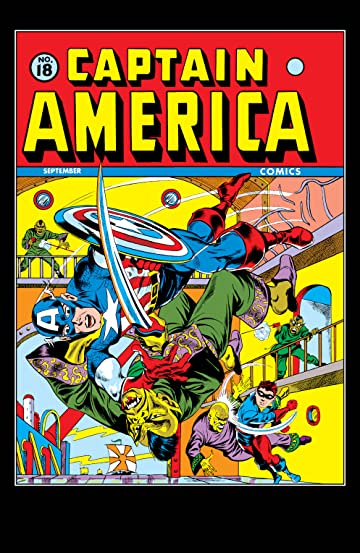 Captain America Comics (1941-1950) #18
